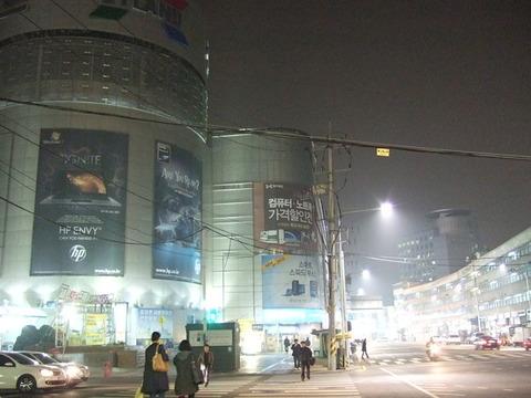 【2010ソウル 韓国】龍山電子商街・龍山駅周辺