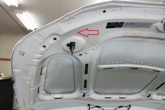 BMW5 hood
