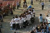20041002 サポーターと記念撮影