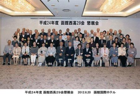 4回生喜寿祝賀会20121023