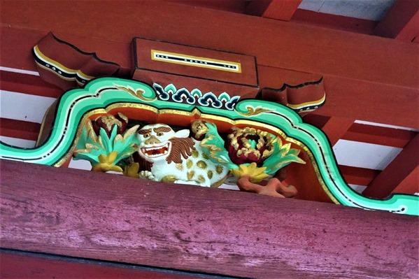 談山神社 彫刻