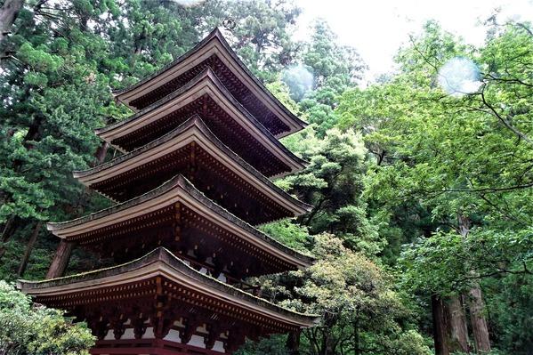 室生寺 国宝 五重塔