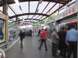 メトロブス駅 〜ホーム〜
