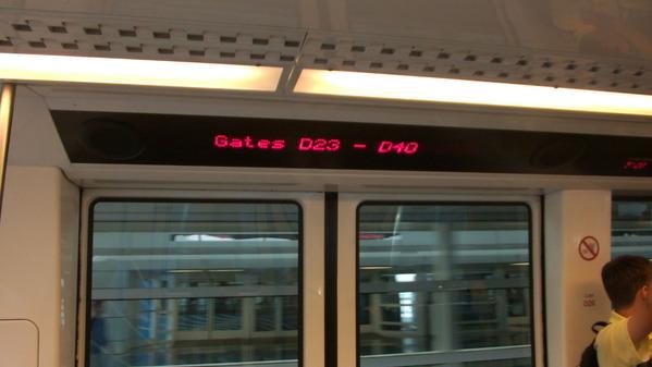 DFW Skylink 〜Gates 23~40〜
