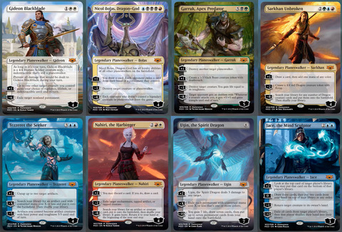 war-of-the-spark-mythic-edition-planeswalkers