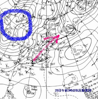 天気図(現況)