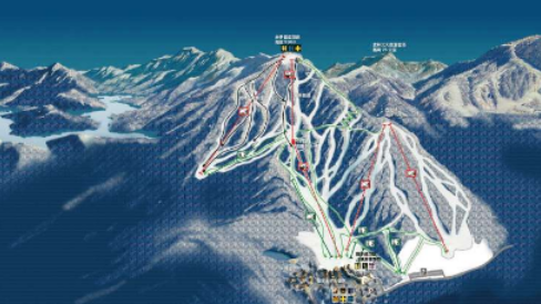 吉林松花湖スキーリゾート1