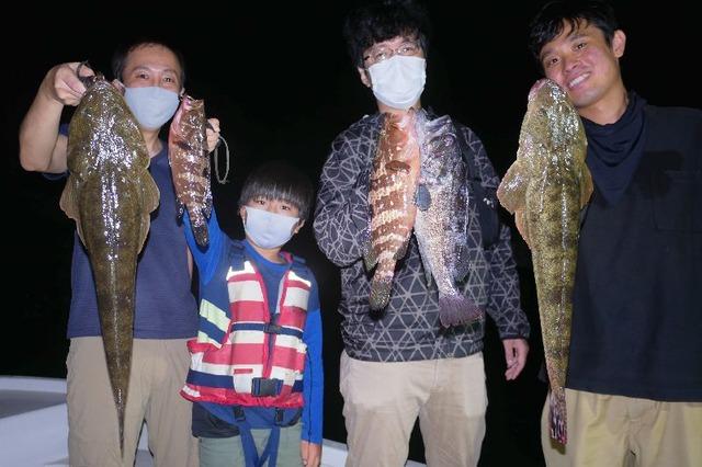 名古屋港 マゴチ 根魚