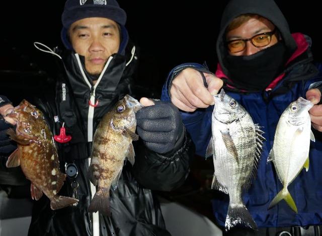 名古屋港 メッキ 根魚