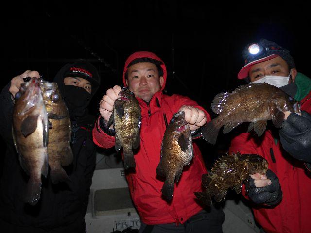 名古屋港 メバル&シーバス