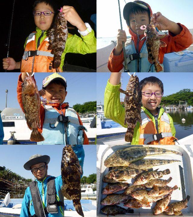 マゴチ&根魚