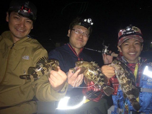 名古屋港 マゴチ&根魚