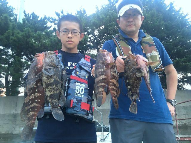 名古屋港 キジハタ&根魚
