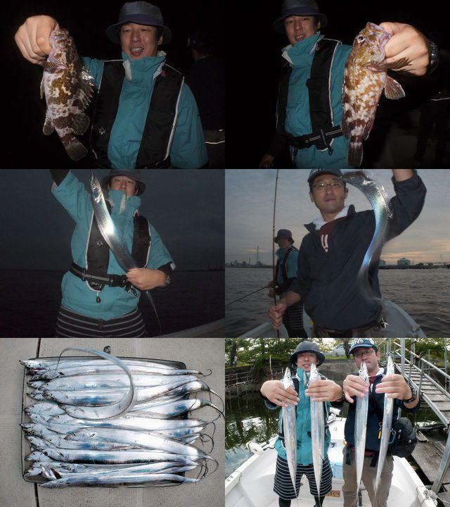 根魚&タチウオ 釣果写真