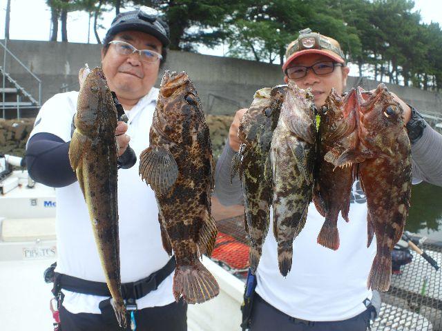 名古屋港 根魚&マゴチ