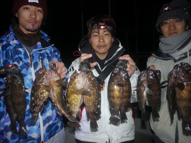 名古屋港 根魚&メバル
