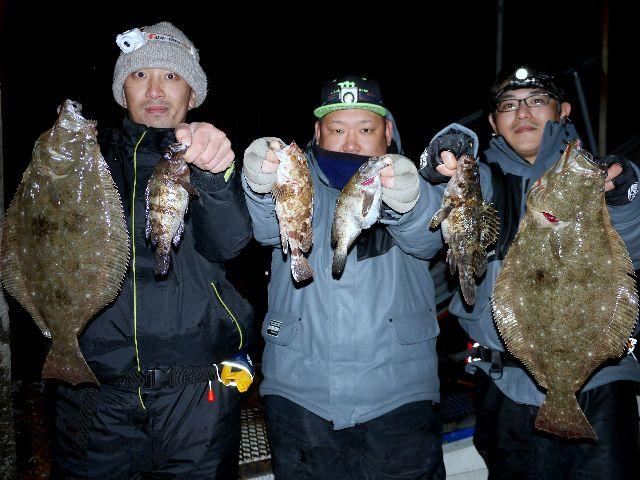 名古屋港 ヒラメ&メバル&根魚