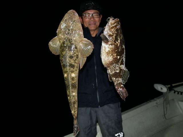 名古屋港 根魚 マゴチ