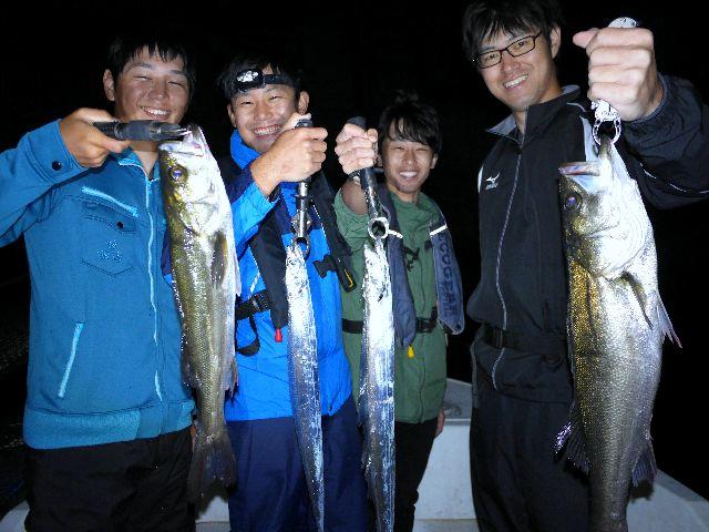名古屋港 シーバス&タチウオ&根魚