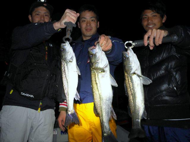 名古屋港 シーバス&根魚