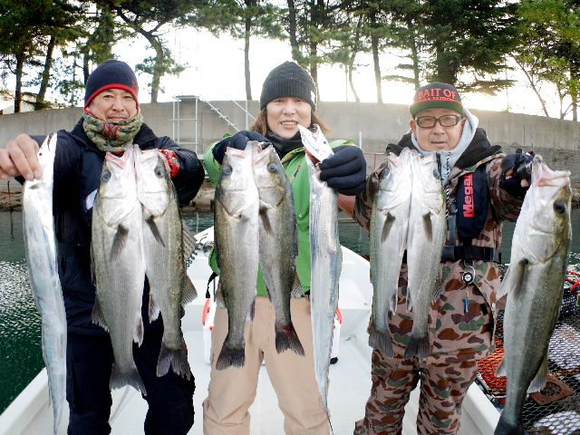 名古屋港 シーバス&タチウオ