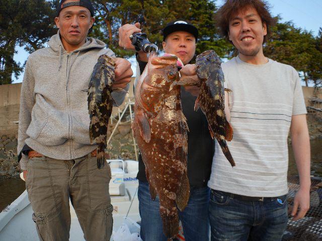 名古屋港 根魚&キジハタ