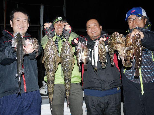名古屋港 マゴチ メバル 根魚