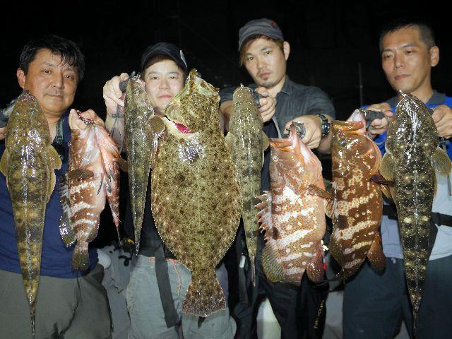キジハタ ヒラメ マゴチ 釣果写真