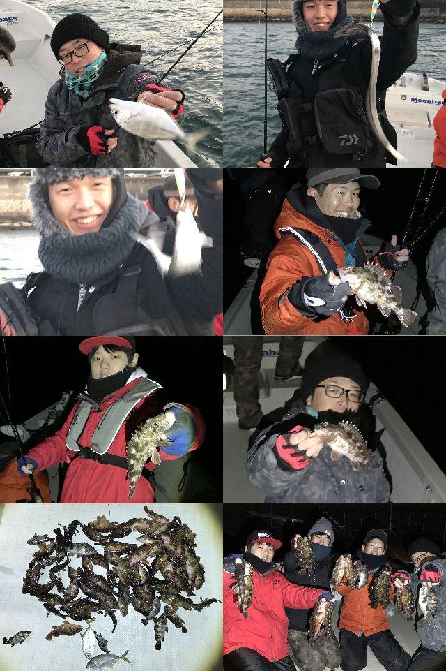 メッキ 根魚 釣果写真