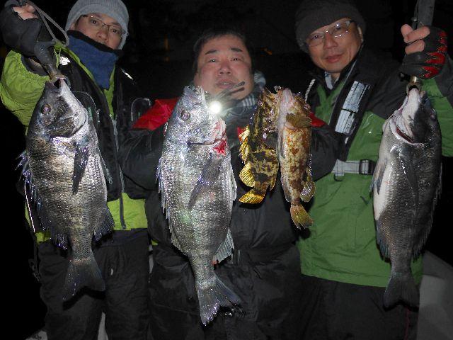 名古屋港 クロダイ&根魚