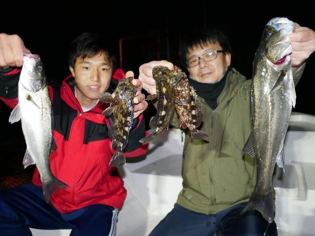名古屋港 シーバス 根魚