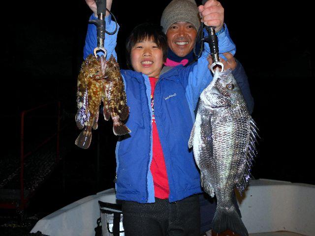 名古屋港 クロダイ 根魚