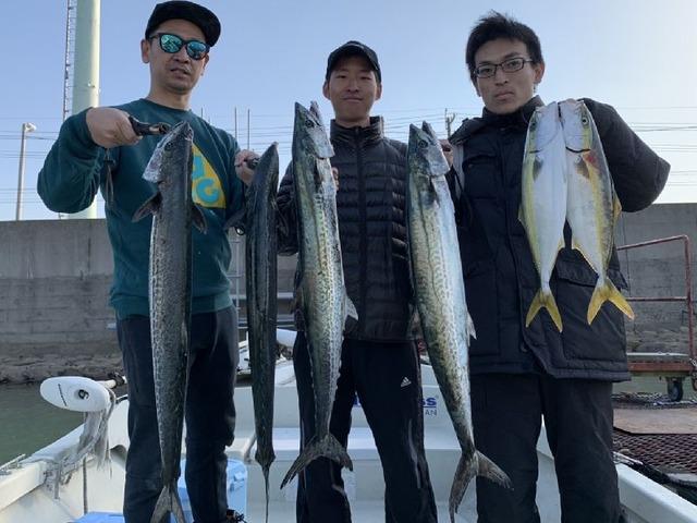 名古屋港 出船 サワラ ハマチ
