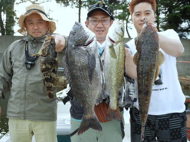 名古屋港 多魚種狙い