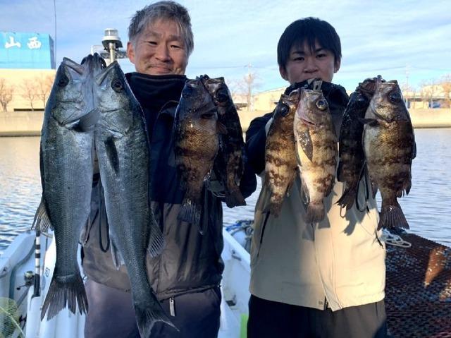 名古屋港 メバル 根魚 シーバス