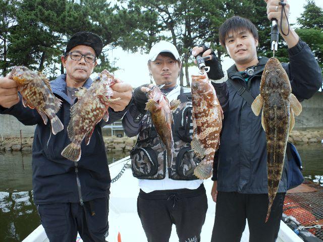 名古屋港 キジハタ&マゴチ&根魚