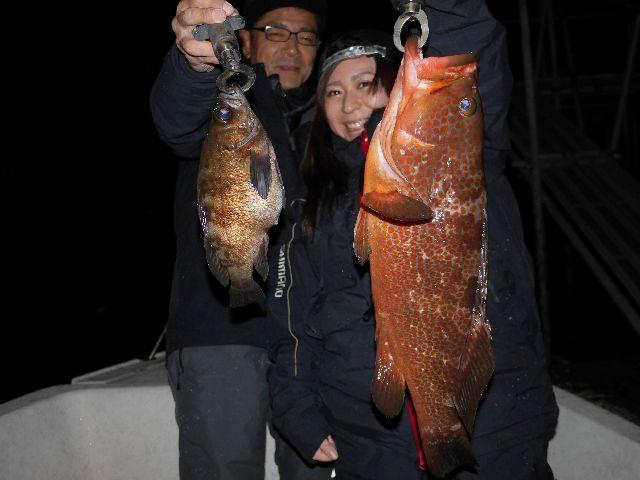 名古屋港 キジハタ&メバル&根魚