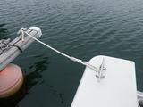 係船ロープ交換