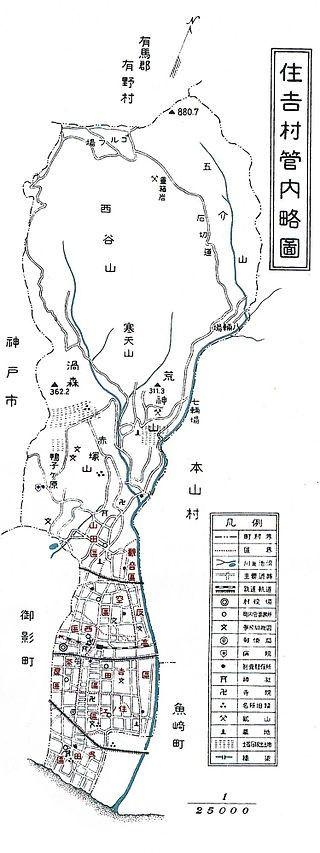 S21住吉村地図