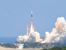 だいち2号を搭載したH-IIAロケットの打ち上げに成功