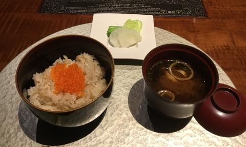 熟年夫婦竹泉荘夕食10