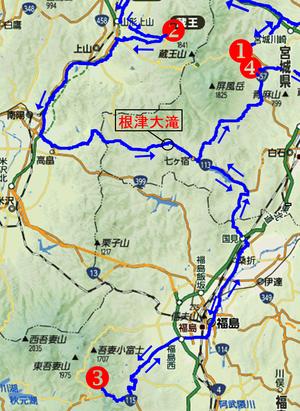 熟年夫婦蔵王地図4-2