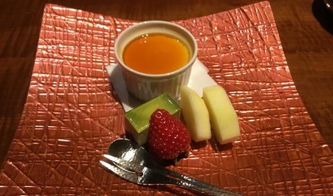 熟年夫婦竹泉荘夕食11