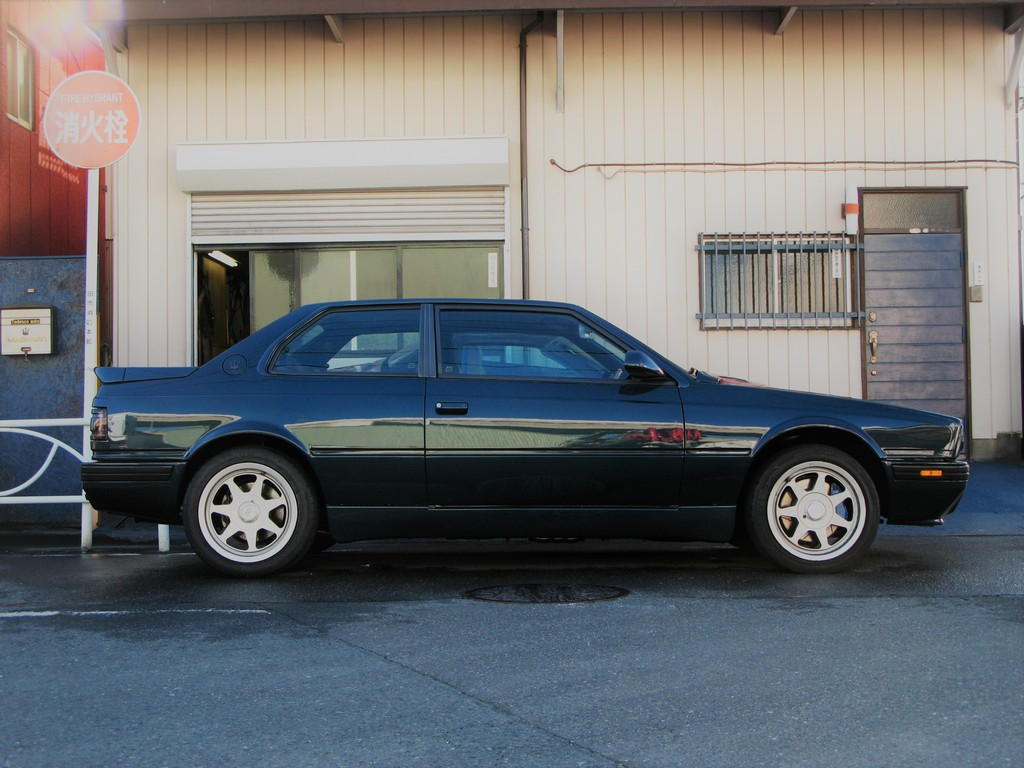 AM477 / Love Maserati Biturbo 222 4v Dark Aquamarine ...