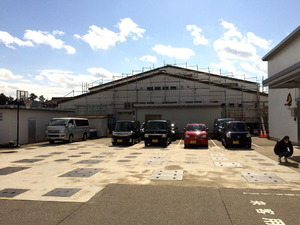 工場北側壁面全面改装