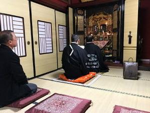 中川さんのおうちの仏壇です