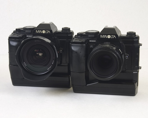 Great footprint that flagship MINOLTA α9000 left (ミノルタα9000が残した偉大な足跡)