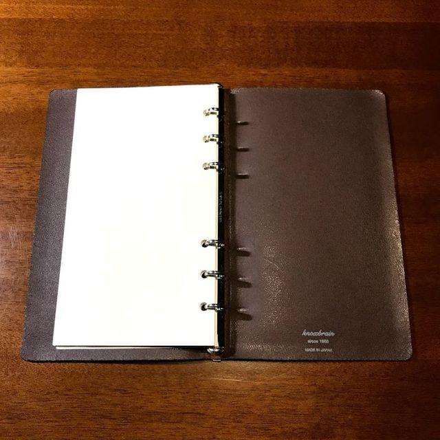 2020年のおすすめシステム手帳は「ノックスブレインのルフト」軽くて薄い究極のミニマム手帳