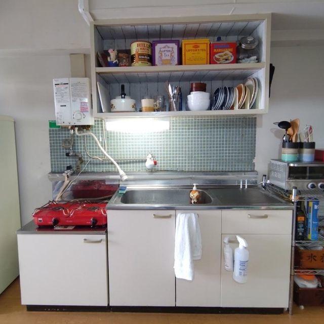 台所ビフォーアフター|賃貸マンションをセルフリノベした理由
