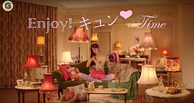 テレビCM インテリアがおしゃれでかわいいコマーシャル10選 佐々木希 エッセンシャル ゴシック